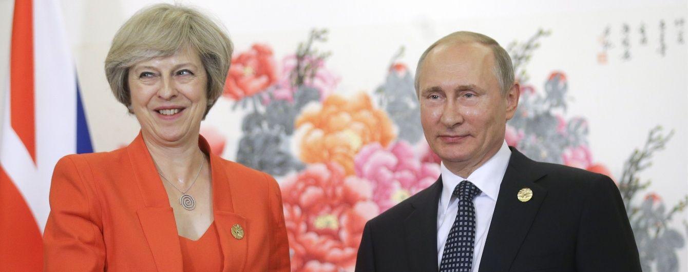 Путін вперше зустрівся з Терезою Мей: обговорили тероризм, авіабезпеку і наркотрафік