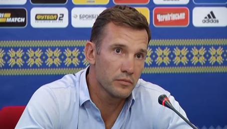 Андрій Шевченко перед матчем з Ісландією: Хвилювання є, і це нормально