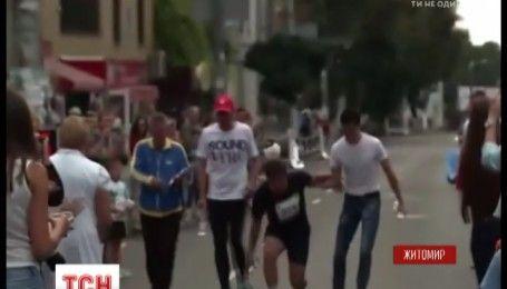 Мэр Житомира потерял сознание во время преодоления полумарафона