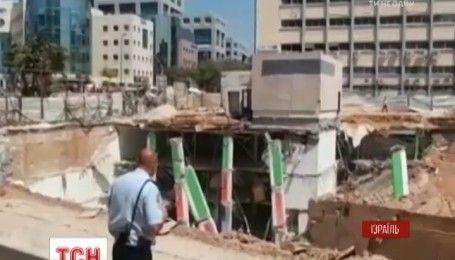 В Тель-Авиве провалилась недостроенная подземная парковка, есть погибшие