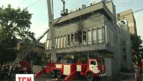 """Активисты начали блокировать центральный офис телеканала """"Интер"""""""