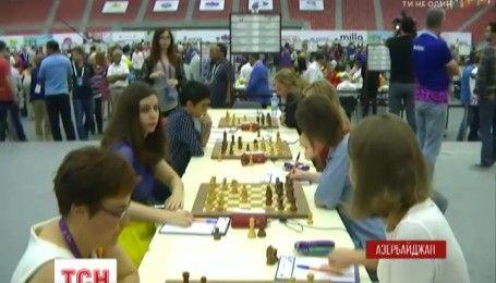 Украинские шахматисты уверенно одолевают соперников на олимпиаде в Баку