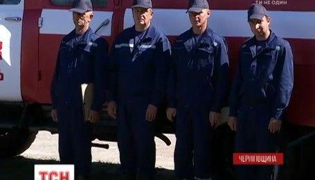 Перша добровільна пожежна команда почала своє патрулювання на Чернігівщині