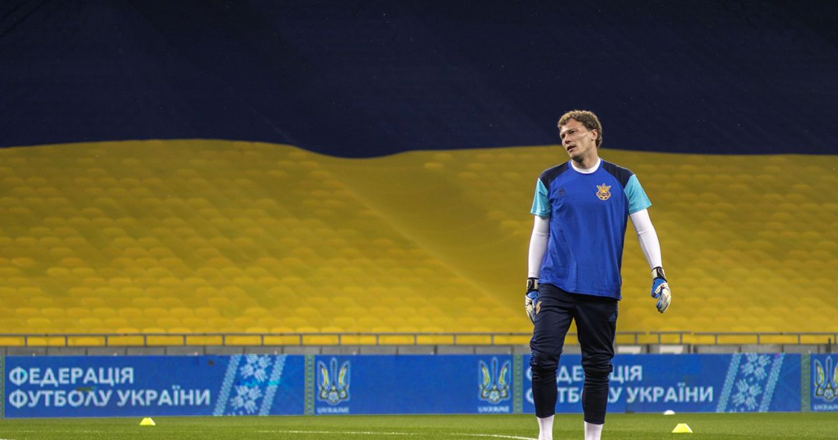 Збірна України зіграла внічию зі збірною Ісландії на НСК Олімпійський в Києві. Матч пройшов при порожніх трибунах.  Фото - Надія Мельниченко