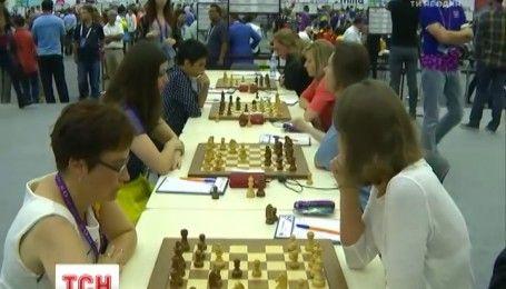 Украинские шахматисты победили российскую сборную на олимпиаде в Баку