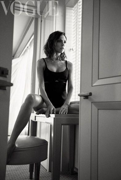 Вікторія Бекхем для British Vogue _1