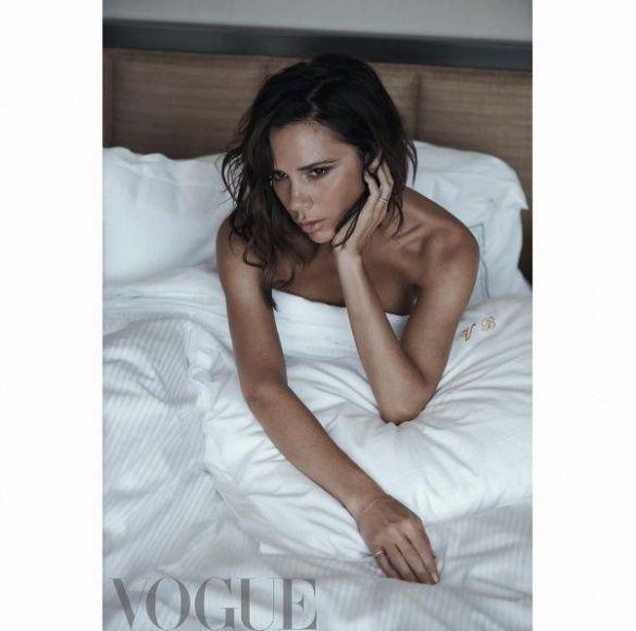 Вікторія Бекхем для British Vogue _2