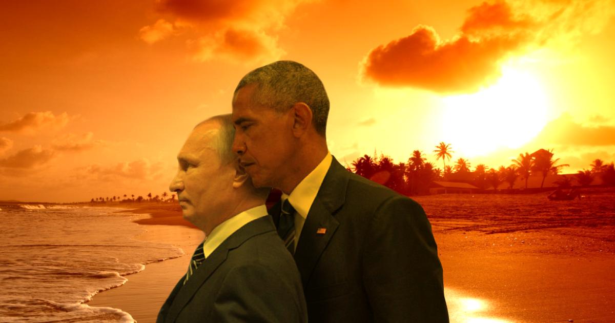 Фотожаби із Путіним та Обамою @ reddit