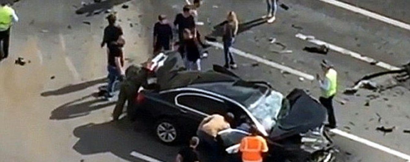 У Москві у лобовому зіткненні загинув водій Путіна