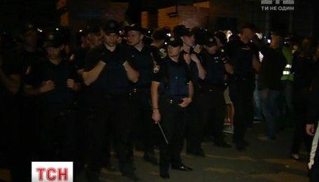 Полицейские задержали застройщиков, которые незаконно начали строительство в столичном Святошино