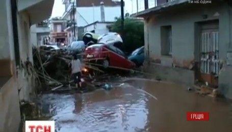 Греция страдает от наводнений, есть погибшие