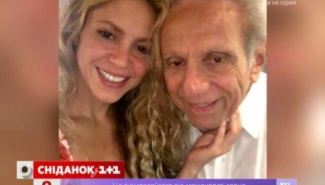 Шакира трогательно поздравила отца с 85-летием