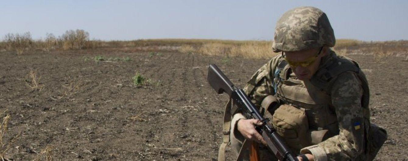 Бійці АТО не зазнали жодних втрат за добу, а бойовики підірвалися на власній міні