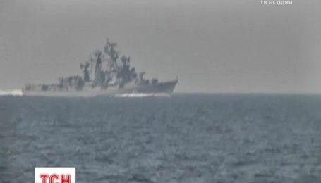 В Черном море украинские пограничники попали в прицел пушек российских военных кораблей