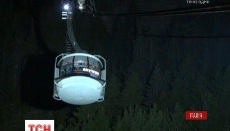 Около 50 туристов вынуждены были заночевать в подъемнике до горы Монблан