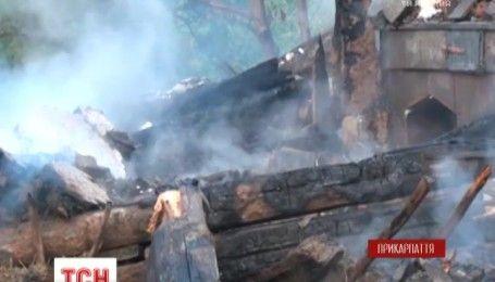 В пожаре на Прикарпатье погиб двухлетний ребенок