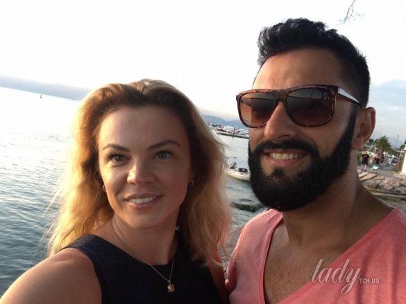 Kishe с женой Оксаной