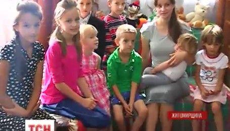 В уникальной семье с Житомирщины родился шестнадцатый ребенок