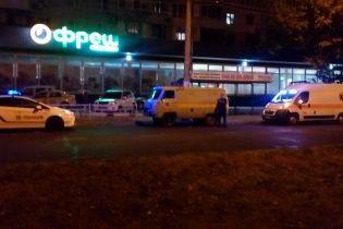 В Херсоне возле отделения банка произошел мощный взрыв