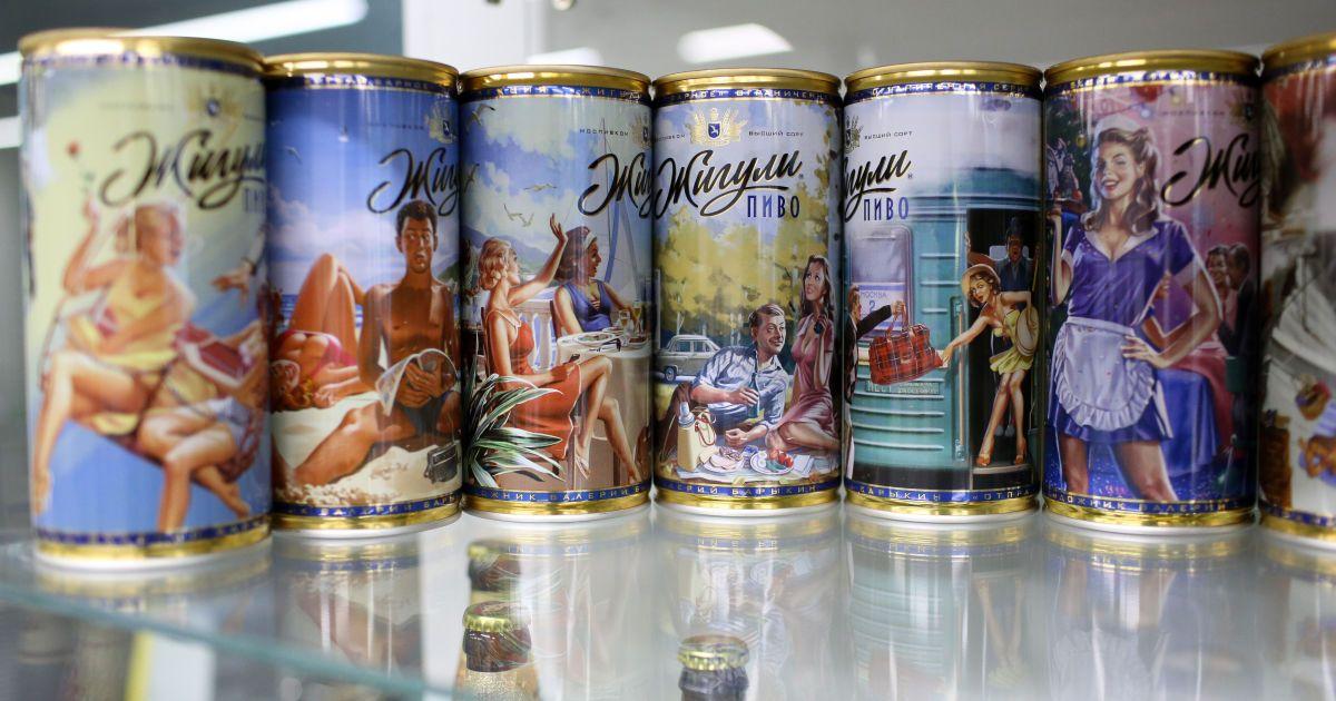 В Україну істотно збільшився обсяг поставок російського пива