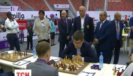 Украинская мужская сборная завоевала серебро на шахматной олимпиаде в Баку