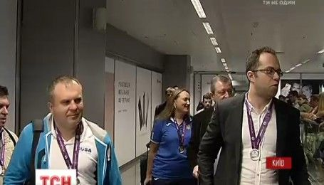 Украинские шахматисты вернулись с Олимпиады в Баку