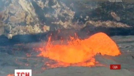 Огненное озеро: на Гавайях активизировался вулкан