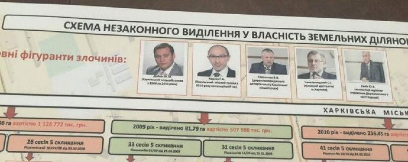 СМИ опубликовали схему незаконного распределения земли в Харькове