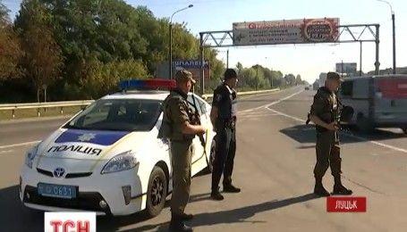 В Луцке правоохранители разыскивают вооруженного и опасного беглеца
