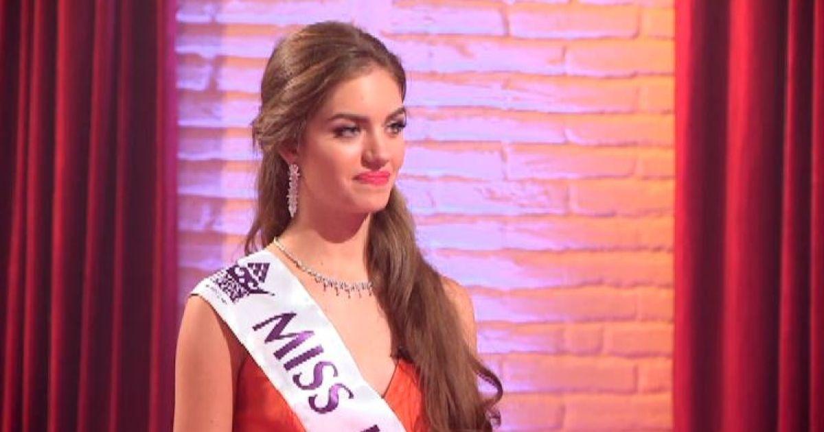 """""""Міс Україна 2016"""" пояснила, чому не змогла згадати прізвище прем'єр-міністра"""