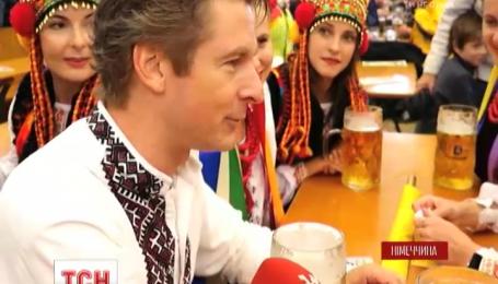 Украинцы впервые приняли участие в параде национальных костюмов на Октоберфесте