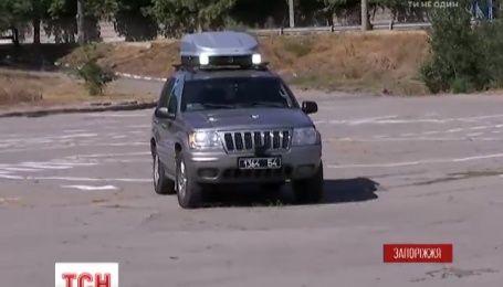 В Запорожье создали беспилотное авто