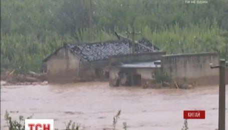 Большая вода накрыла юго-запад Китая