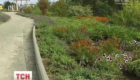 У столичному ботанічному саду імені Гришка відкрили ароматичний сад
