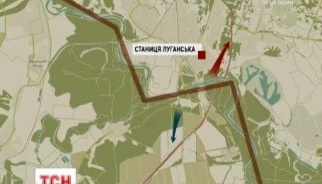 На Луганщині розпочалися роботи по розведенню сторін