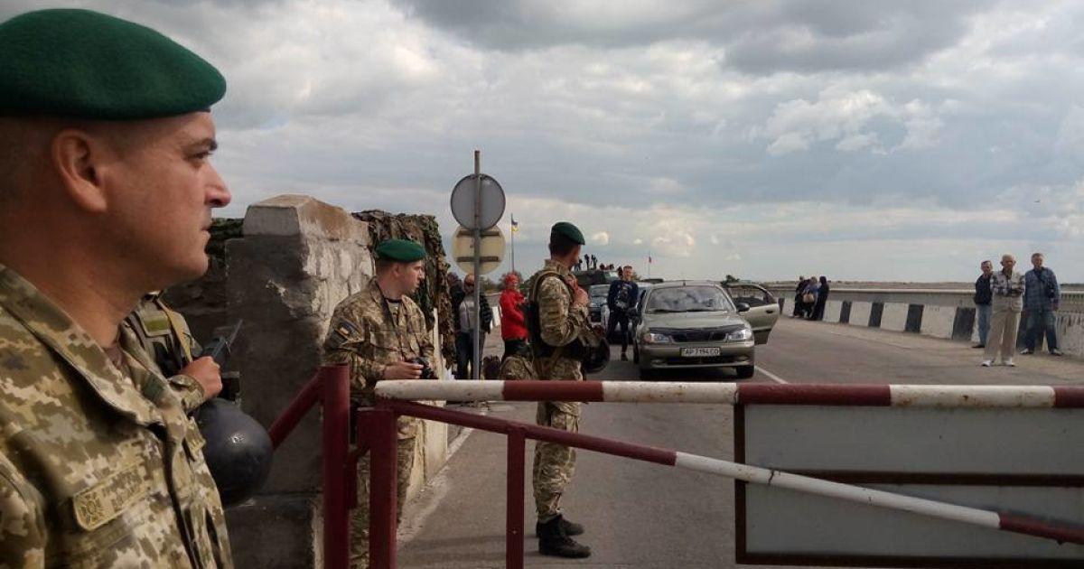 Оккупанты ликвидируют свои блокпосты на админгранице с Крымом - погранслужба