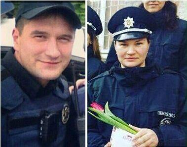 Артем Кутушев, Макаренко Ольга, патрульні в Дніпрі
