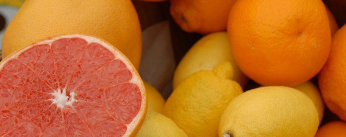 В Україну за рік завезли більше 300 тисяч тонн цитрусових