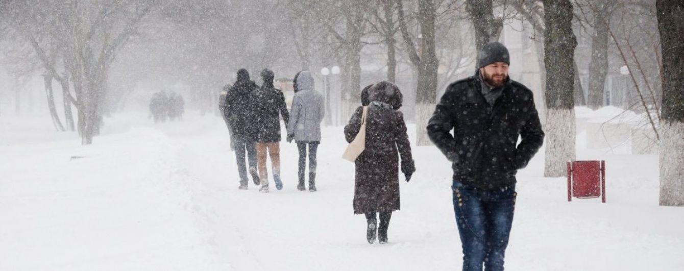 Після землетрусу та сильних злив на Україну насувається сувора зима