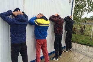 СБУ затримала на Донеччині банду рейдерів