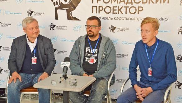 Меценат Игорь Янковский, глава Госкино Филипп Ильенко, глава оргкомитета Андрей Лохматов