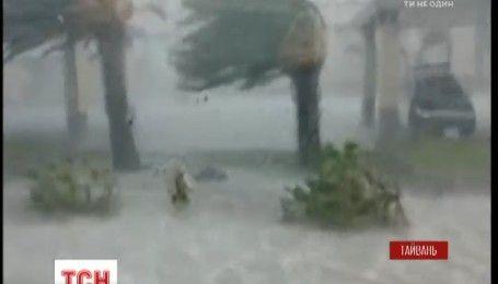 Тайфун Меггі завдав збитків мешканцям східного узбережжя Тайваню