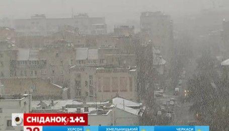 Украинцев пугают аномально холодной зимой