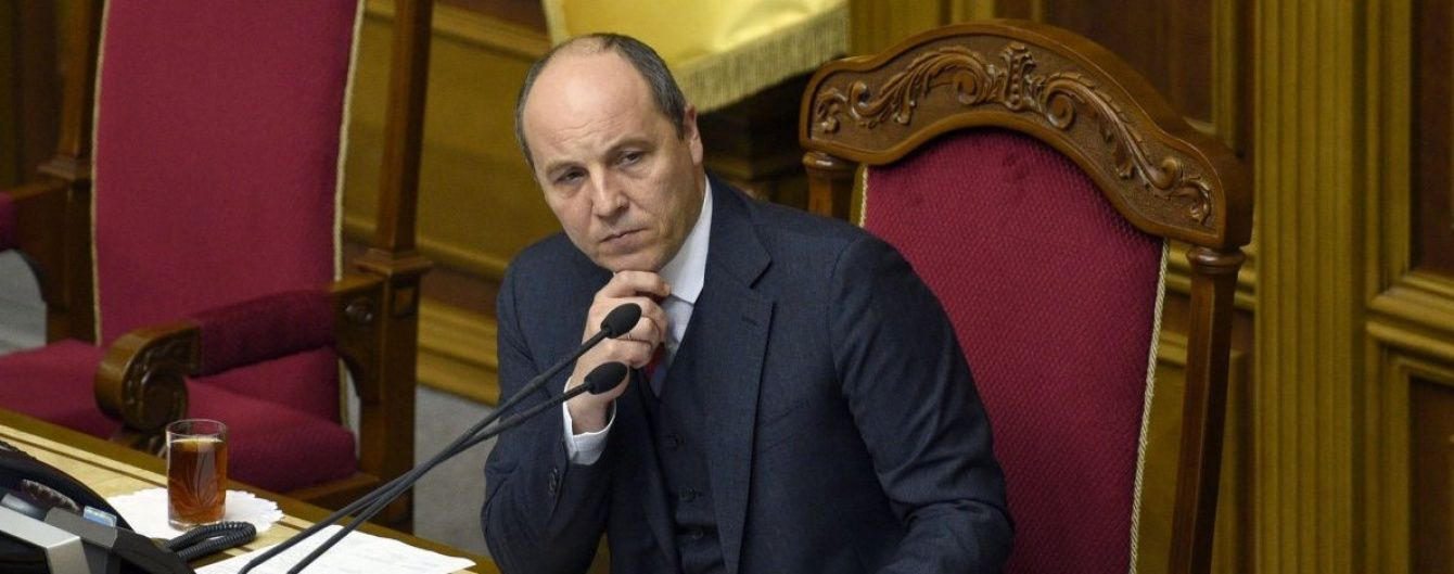 Парубий письменно обратился к вице-президенту США с просьбой про антироссийские санкции