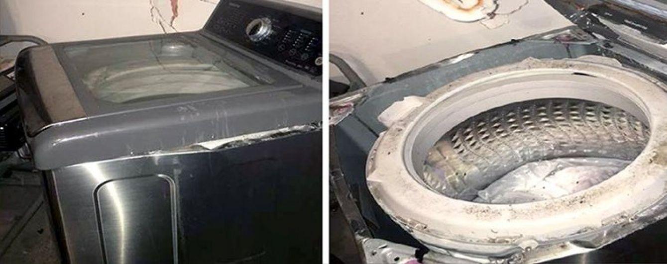 Samsung відкличе майже 3 млн пральних машин