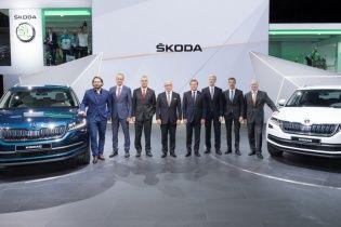 На Парижском автосалоне прошла премьера нового вседорожника Skoda Kodiaq