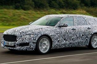 Jaguar выпустит универсал XF нового поколения