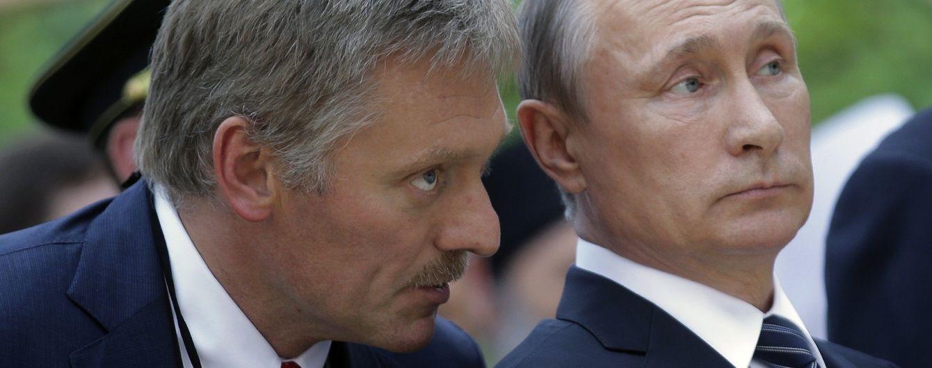 В Кремле прокомментировали заявление Зеленского о диалоге с Путиным относительно войны на Донбассе