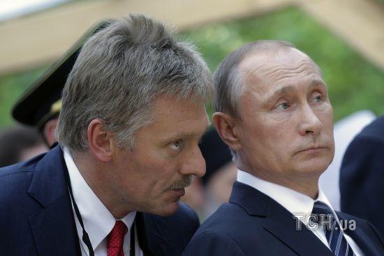 В Кремлі прокоментували заяву Зеленського про діалог з Путіним щодо війни на Донбасі