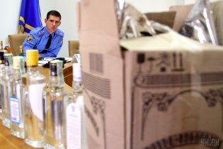 В Одессе нашли более семи тонн нелегального спирта и алкогольных напитков